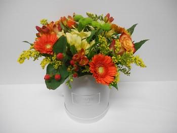 Květinový box gratulační